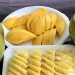 Mango, kokosy, ananas