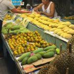 Ovocný trh Thajsko